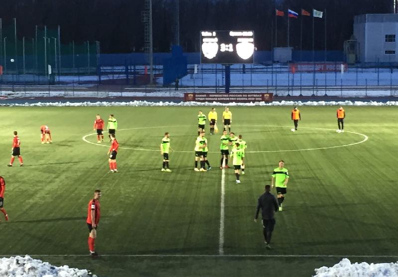 «Красный» в Смоленске одержал волевую победу над молодежью «Химок»
