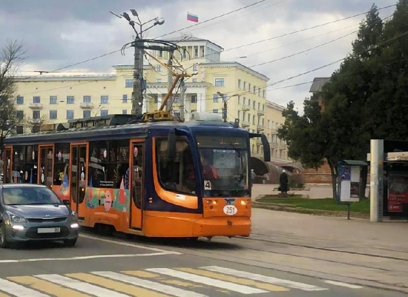 В Смоленске для туристов запустят брендированный трамвай с экскурсоводом