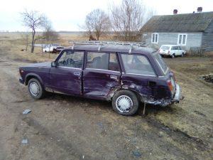 В аварии в Смоленском районе пострадал человек
