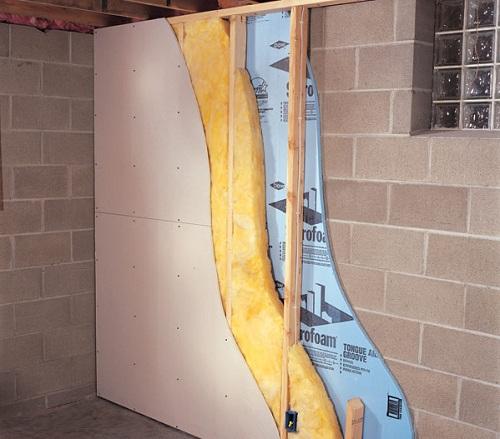 Внутренняя термоизоляция стен в квартире