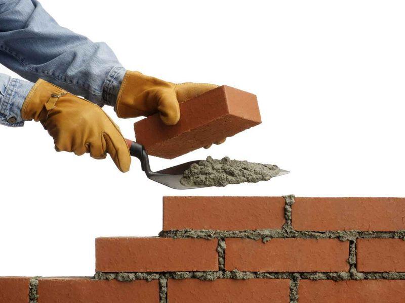 Как правильно класть кладку при черновом строительстве?
