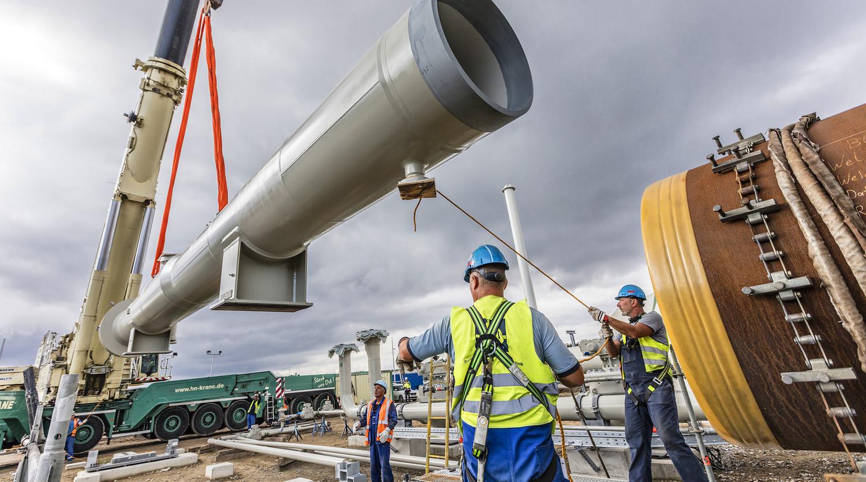 Правительство России уверено в реализации проекта «Северный поток — 2»
