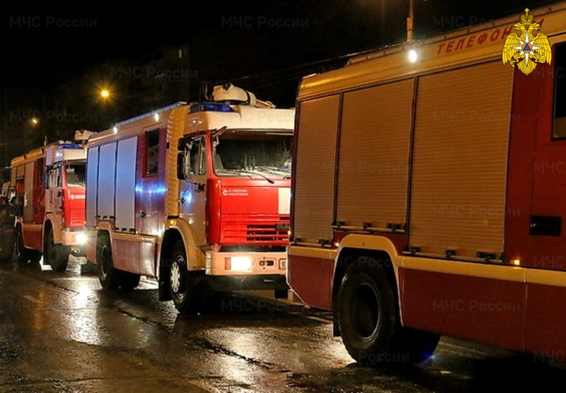 В Смоленске на улице 25 Сентября произошло короткое замыкание в помещении