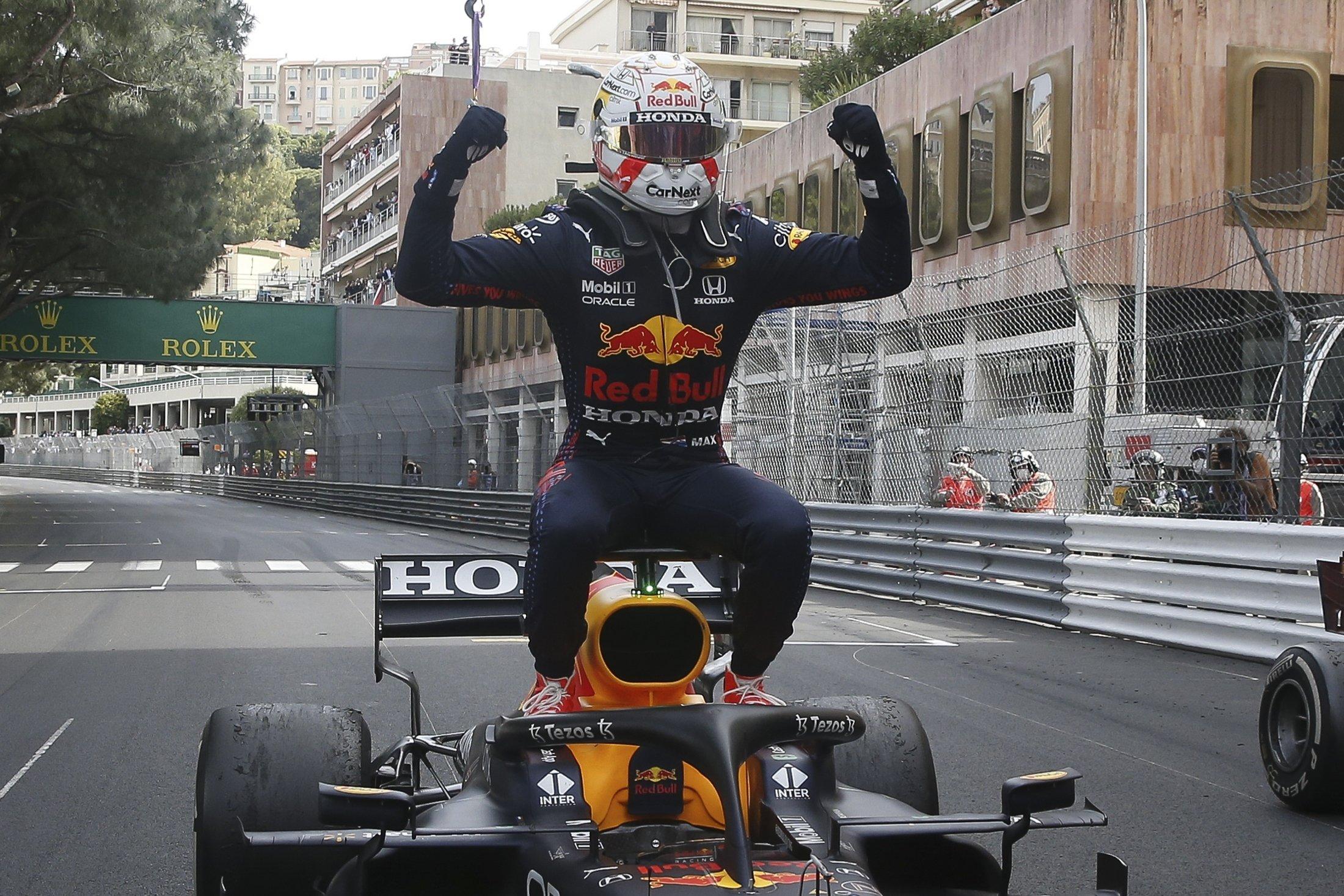 Ферстаппен стал победителем гран-при Монако