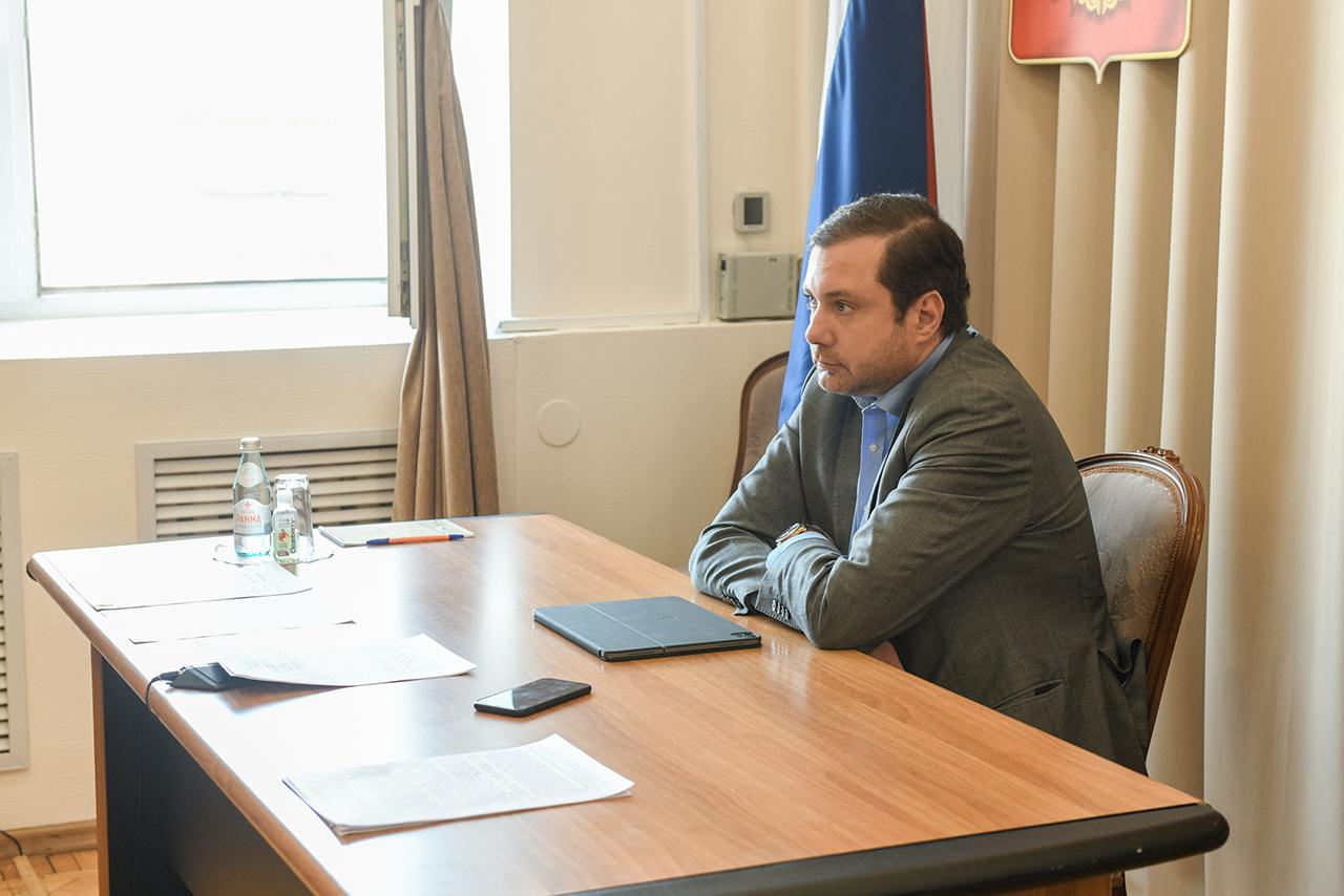Алексей Островский принял участие в заседании Совета ЦФО