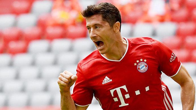 Левандовский признан лучшим игроком прошедшего сезона в «Баварии»