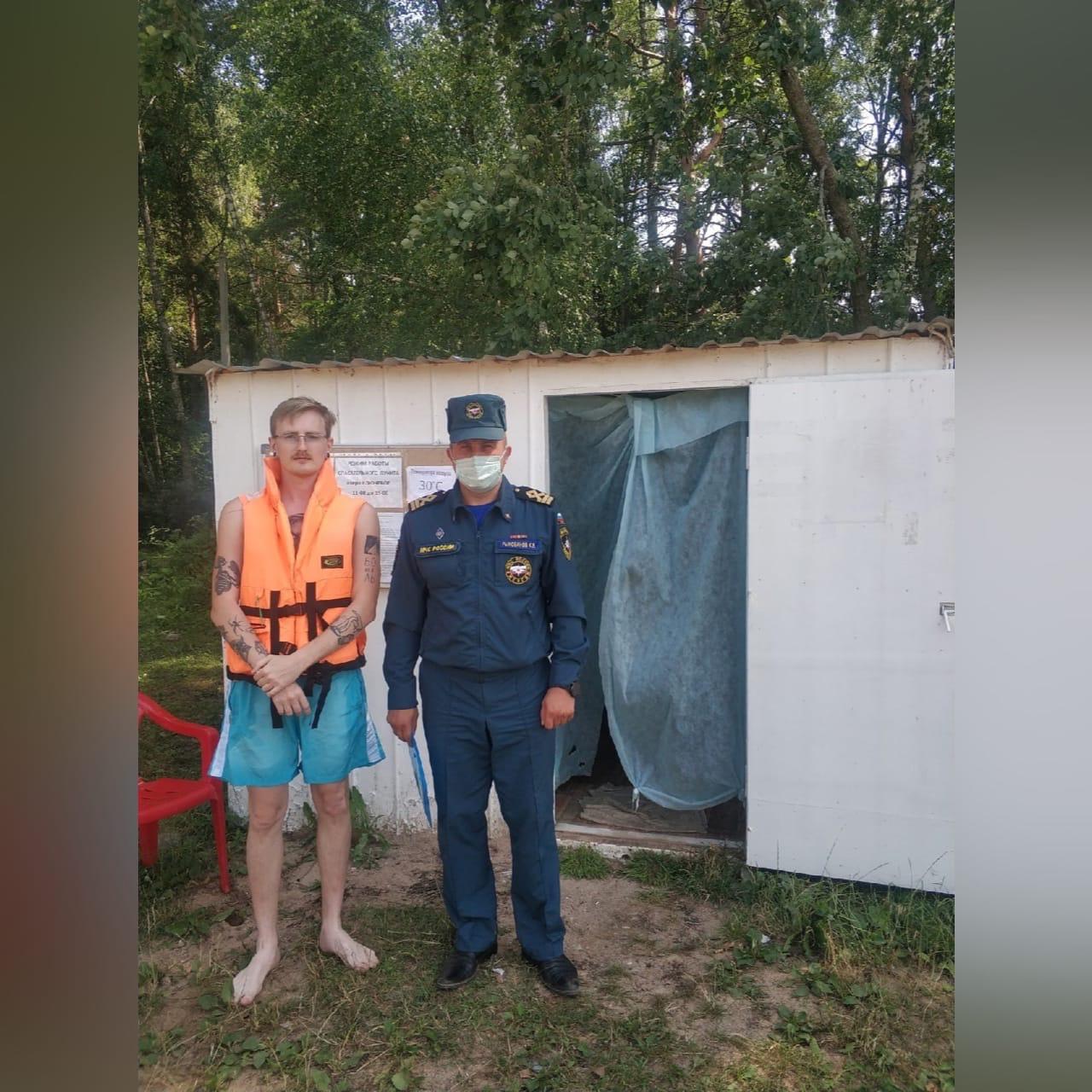 В Смоленске прошел рейд по правилам безопасного поведения на воде в условиях аномальной жары