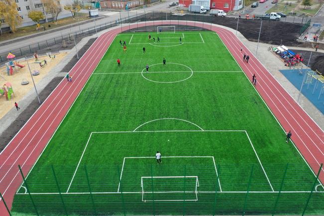 В Красном Бору началось строительство спортивного комплекса