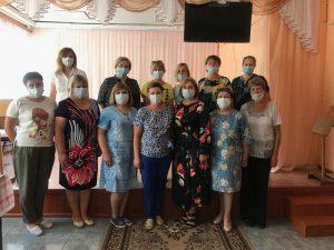 Ольга Васильева встретилась с активом шумячского женсовета