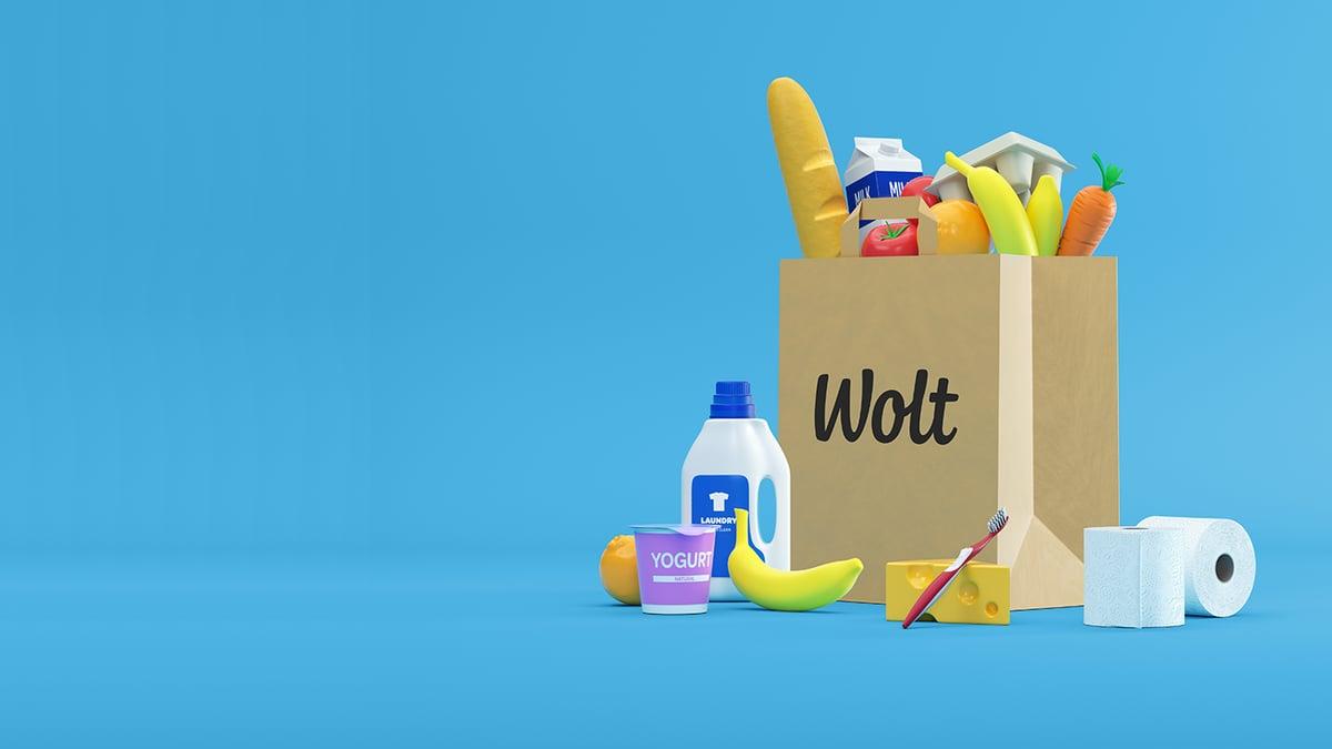 Wolt — доставка продуктов на дом в Казахстане