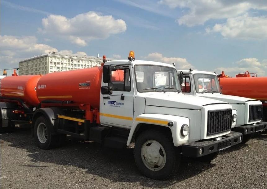 Ассенизаторские машины ГАЗ