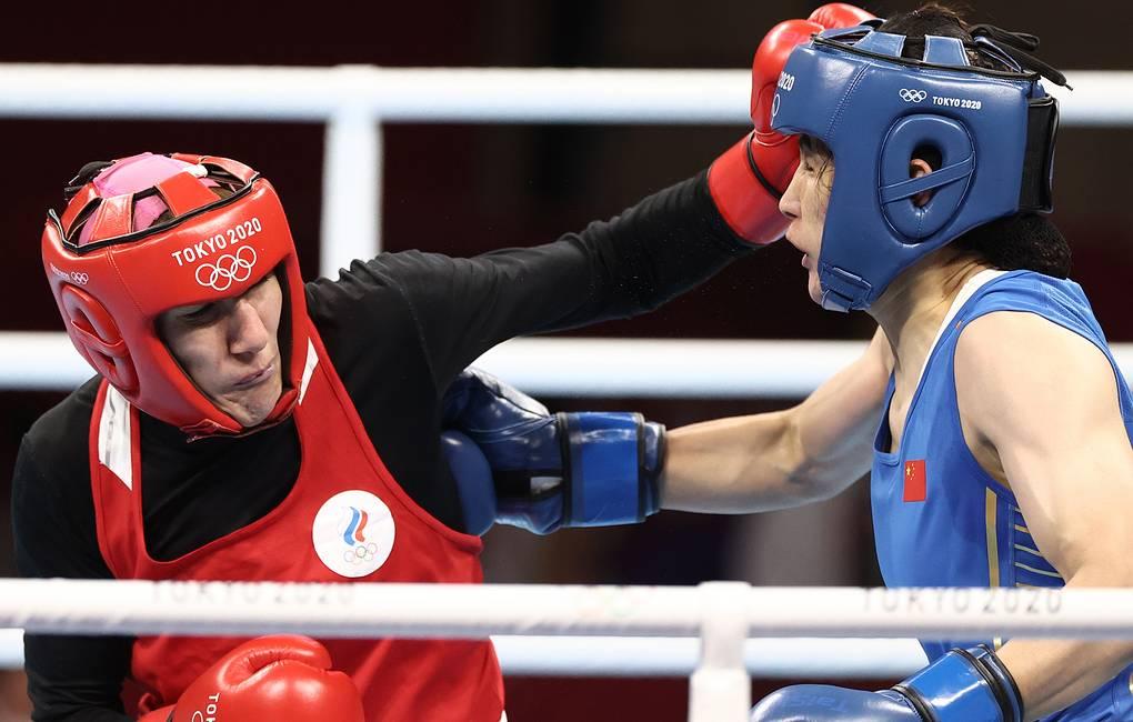 Россиянка Магомедалиева стала бронзовым призером олимпийского турнира по боксу