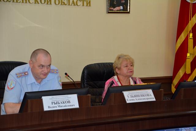 В УМВД России по Смоленской области состоялось заседание аттестационной комиссии