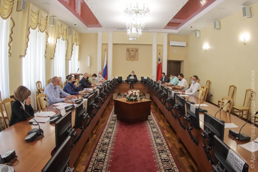 В Смоленске состоялось I заседание штаба по реализации программы социальной газификации