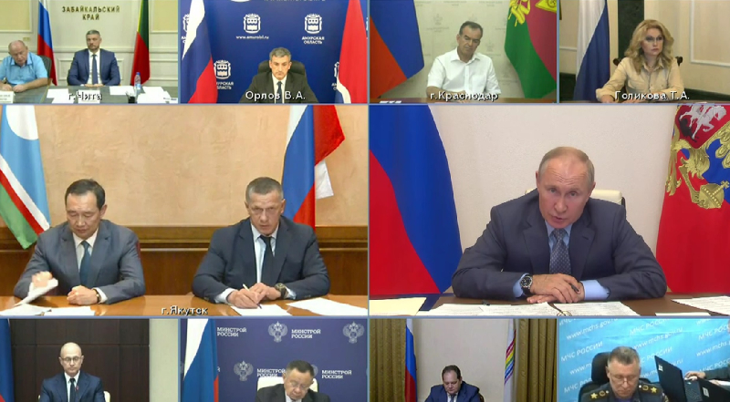 Владимир Путин: «Нужно сделать все для того, чтобы избежать негативных последствий»