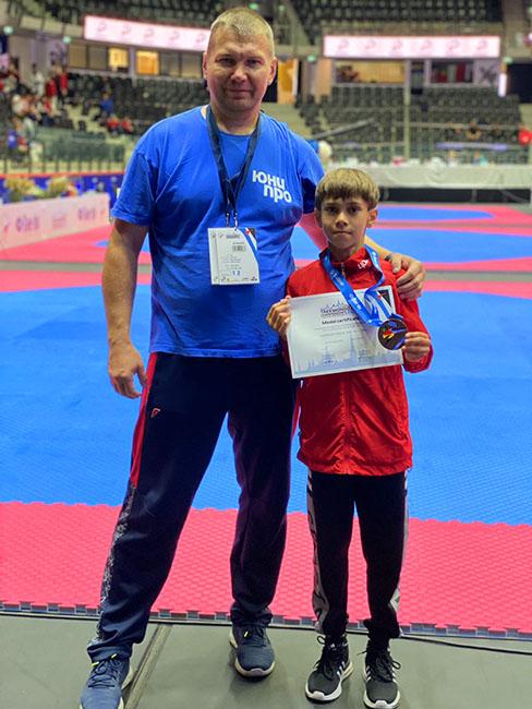 Юный смолянин завоевал медаль на Первенстве Европы по тхэквондо