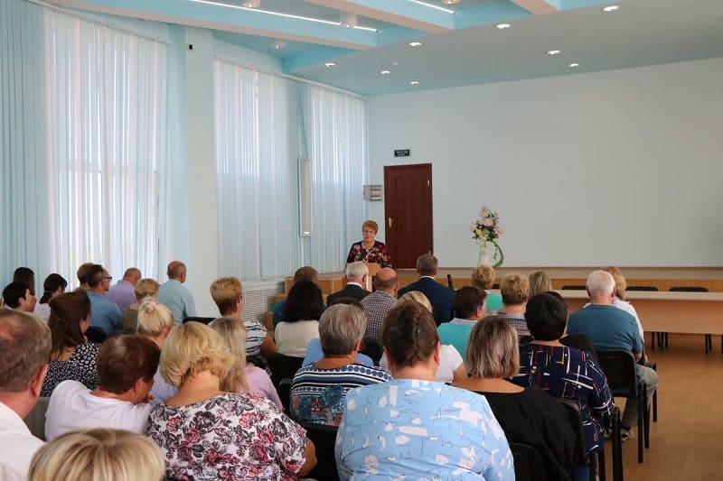 Ольга Окунева встретилась с сотрудниками «Полиграфкомбината»