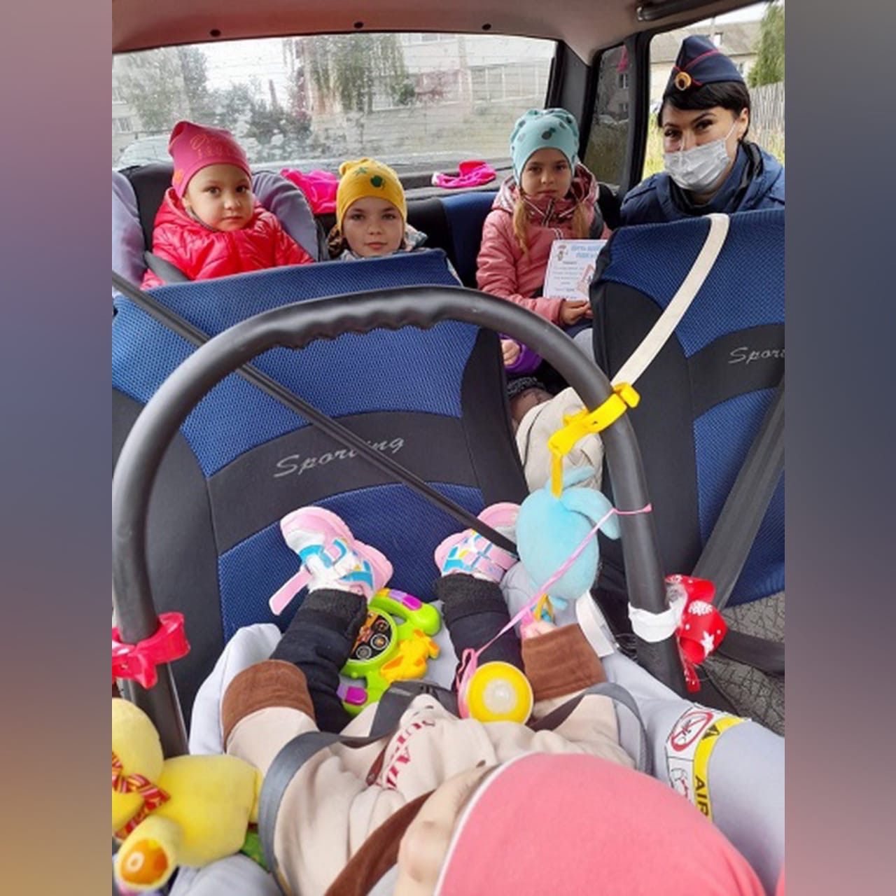 В Смоленской области прошла акция «Ребенок — главный пассажир»