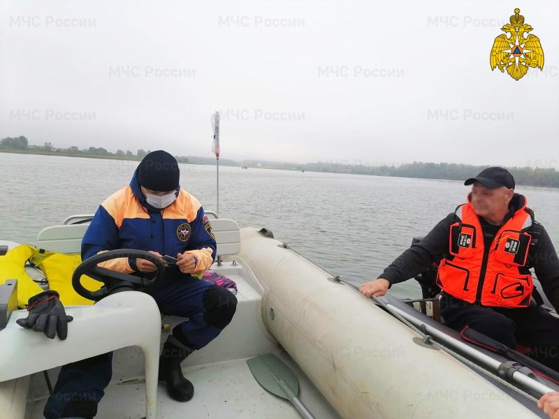 На Вазузском водохранилище прошел профилактический рейд