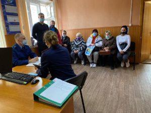 В Смоленской области прокуратура и СК провели прием жильцов пострадавшего дома