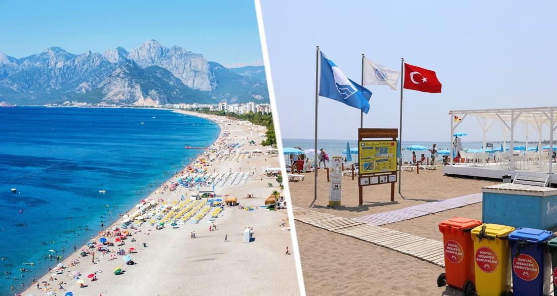На туризм Турции надвигается новая угроза: пляжи Анталии начали исчезать