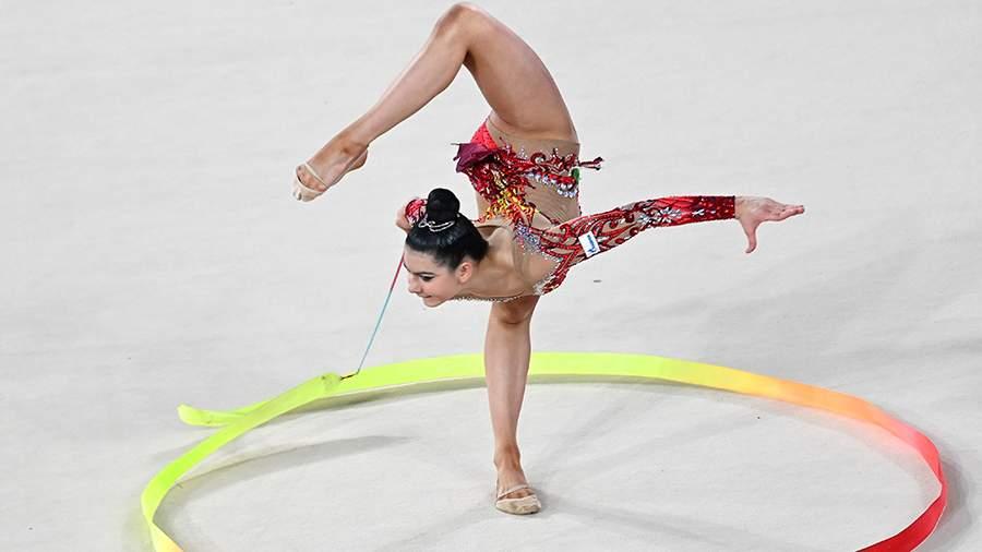Крамаренко выиграла четыре золота на этапе Гран-при по художественной гимнастике